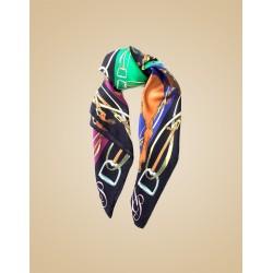Шелковый шарф Corinthia